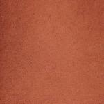 poltrona con rivestimento in microfibra colore terracotta