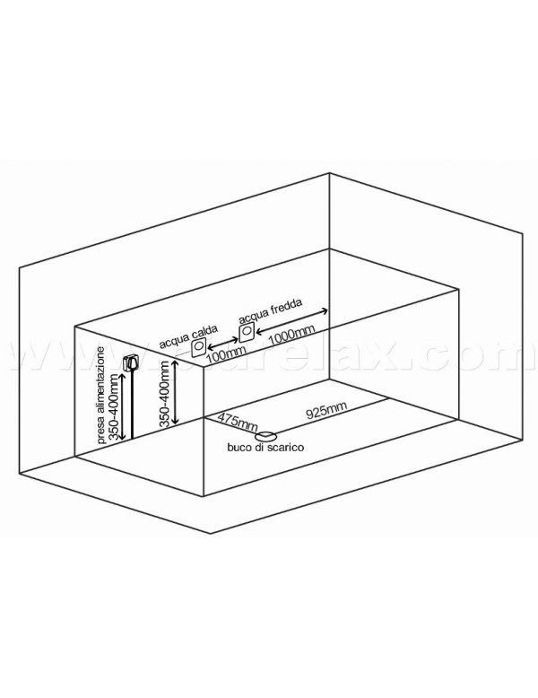 Vasche Da Bagno Dimensioni Ridotte: Vasche da bagno dimensioni ridotte arricchito candele e sali.