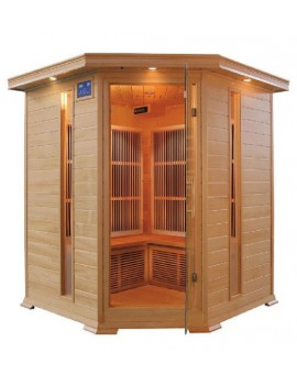 SAUNA INFRAROSSI 4-5 POSTI IRRADIATORI CARBONIO FULL OPTIONAL