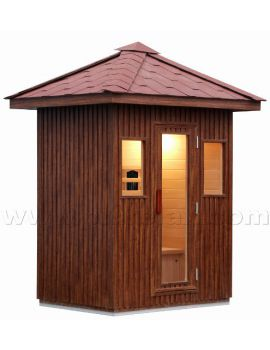 SAUNA INFRAROSSI 3 POSTI DA ESTERNO FULL OPTIONAL