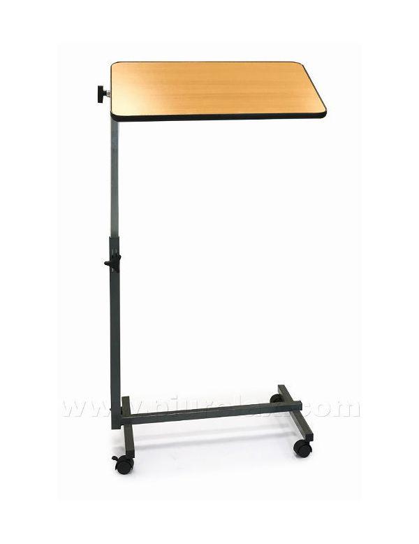 Tavolino Con Le Ruote.Tavolino Servi Pranzo Inclinabile Con Ruote E Ripiegabile