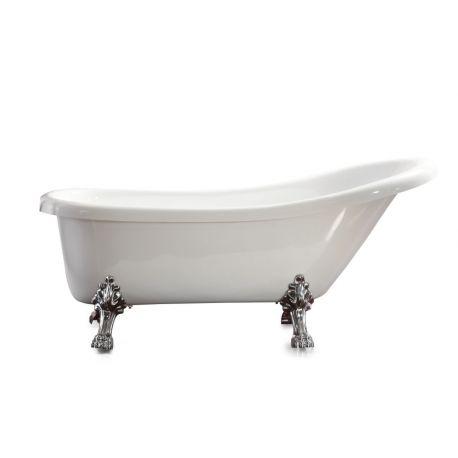 Vasca Da Bagno Freestanding Classic 167 X 71 Piedi Zampa Di Leone