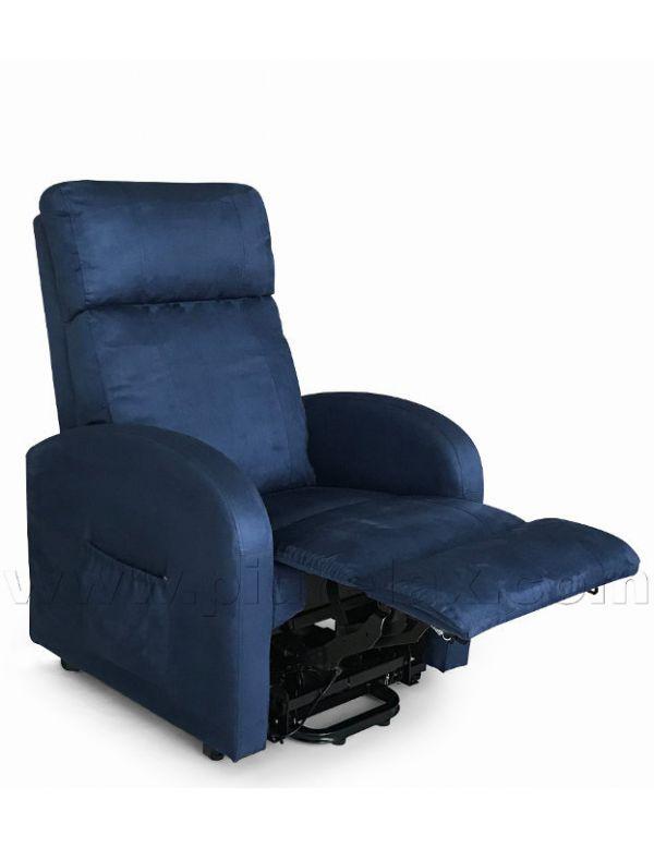 Poltrone Per Anziani Massaggianti.Riscaldamento Zona Lombare Poltrona Relax 4 Zone Vibro