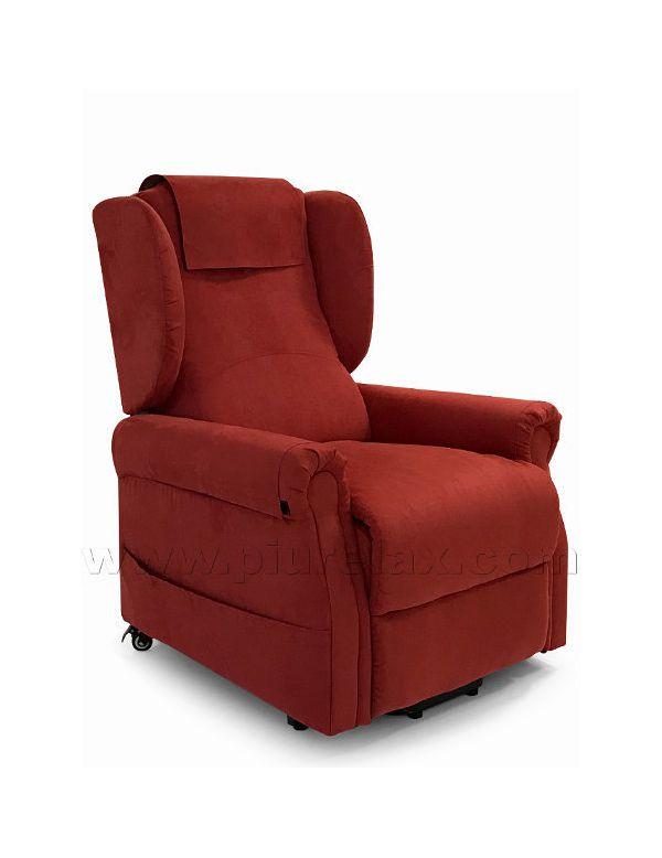Poltrone Relax Elettriche 2 Motori.Poltrona Relax Elettrica Per Anziani E Disabili Con Schienale Bergere