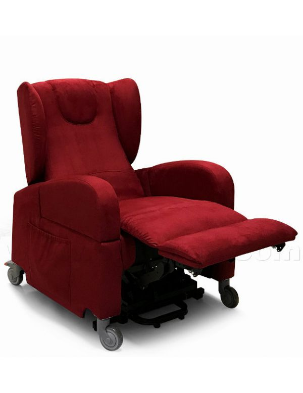 Poltrona A Rotelle.Poltrona Alzapersona Anziani Disabili Con Ruote E Braccioli Removibili