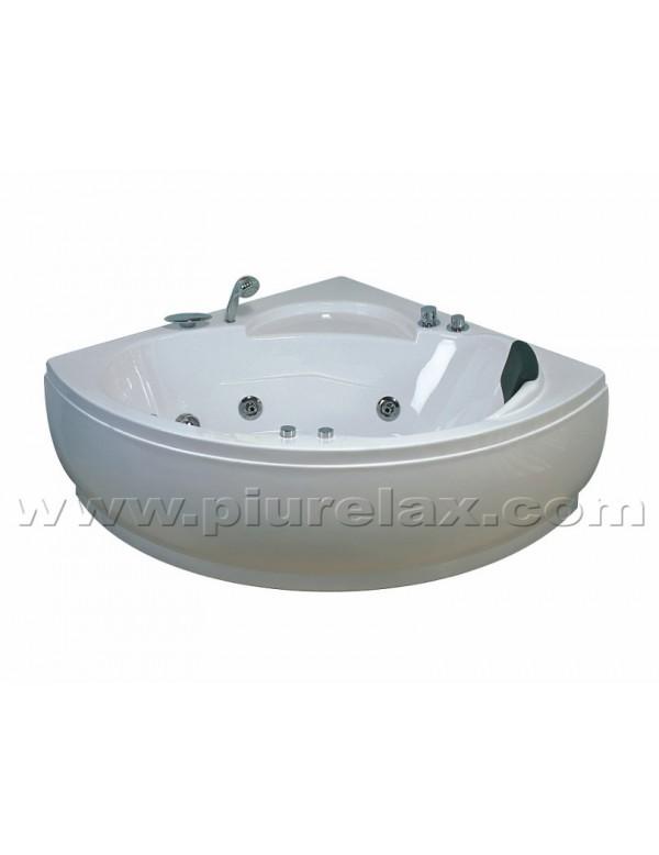 vasca da bagno idromassaggio angolare 1 posto