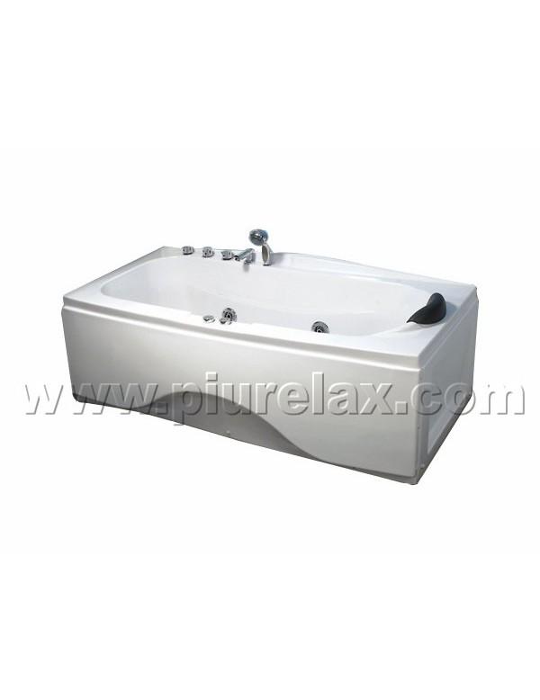 Vasca idromassaggio 1 posto misura 170x78 cm - Vasche da bagno mini ...