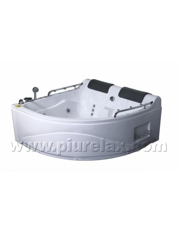 vasca da bagno angolare misure 150x150 con cromoterapia e radio e ...