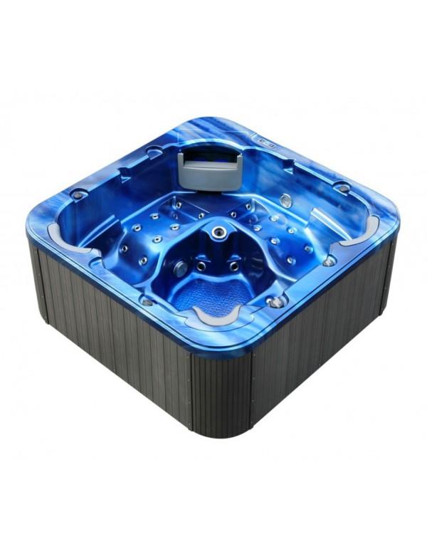 Mini piscina da esterno idromassaggio riscaldata 3 posti da giardino