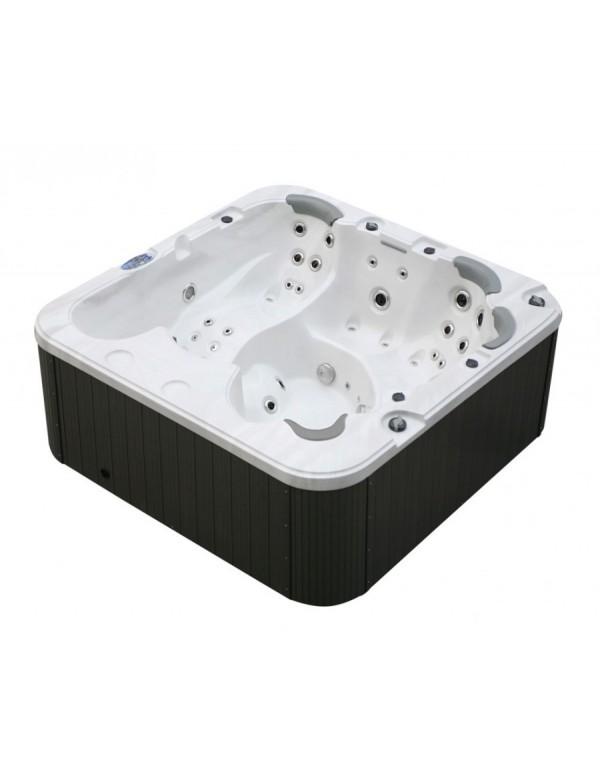 Mini piscina 6 posti da esterno idromassaggio riscaldata da giardino