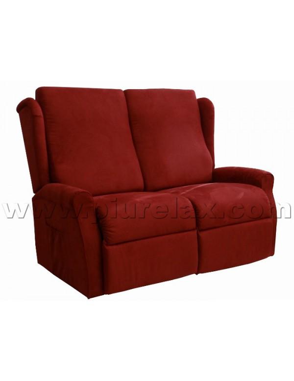 Divano due posti una seduta alzapersona reclinabile un motore for Divano due posti
