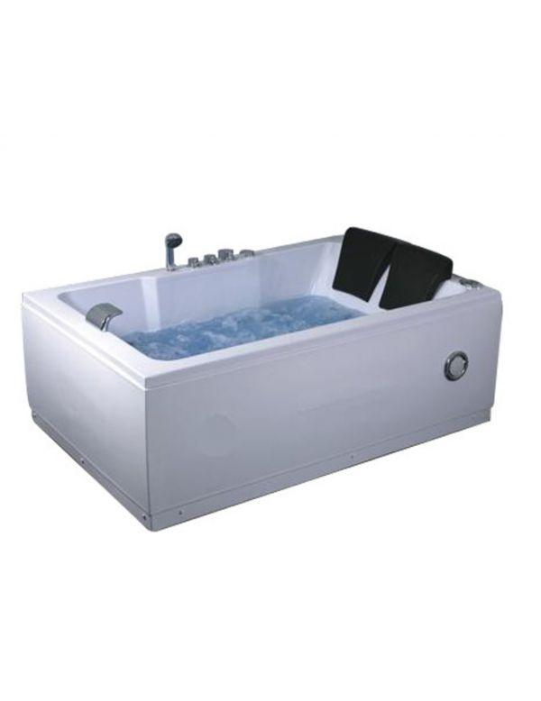 Vasca idromassaggio 2 posti con cromoterapia e radio - Cromoterapia vasca bagno ...