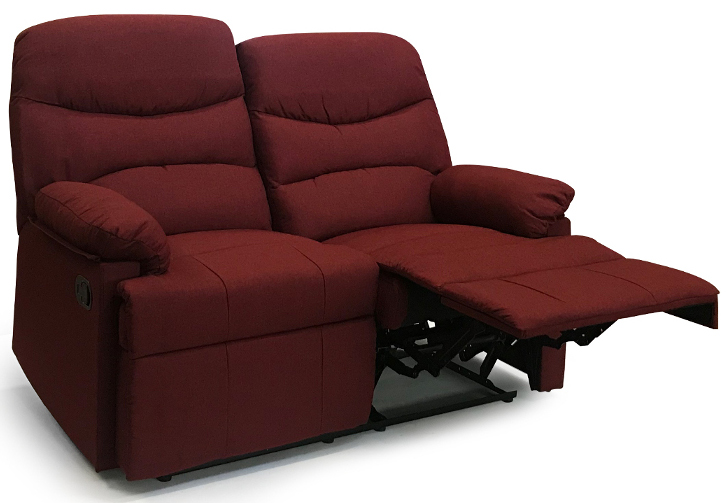 divano relax 2 posti reclinabile manualmente