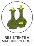 tessuto resistente macchie oleose