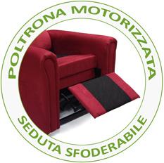 potrona relax per anziani e disabili con seduta sfoderabile