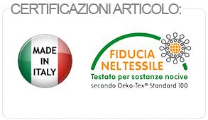 certificazione materasso