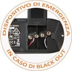 dispositivo di emergenza poltrona elettrica
