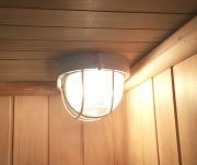 illuminazione sauna finlandese