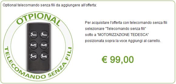 telecomando senza fili rete motorizzata elettrica
