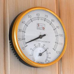 termometro sauna finlandese